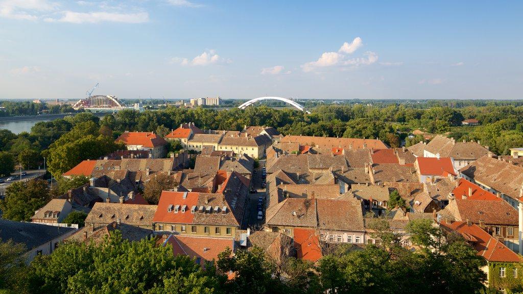 Novi Sad showing a city and landscape views