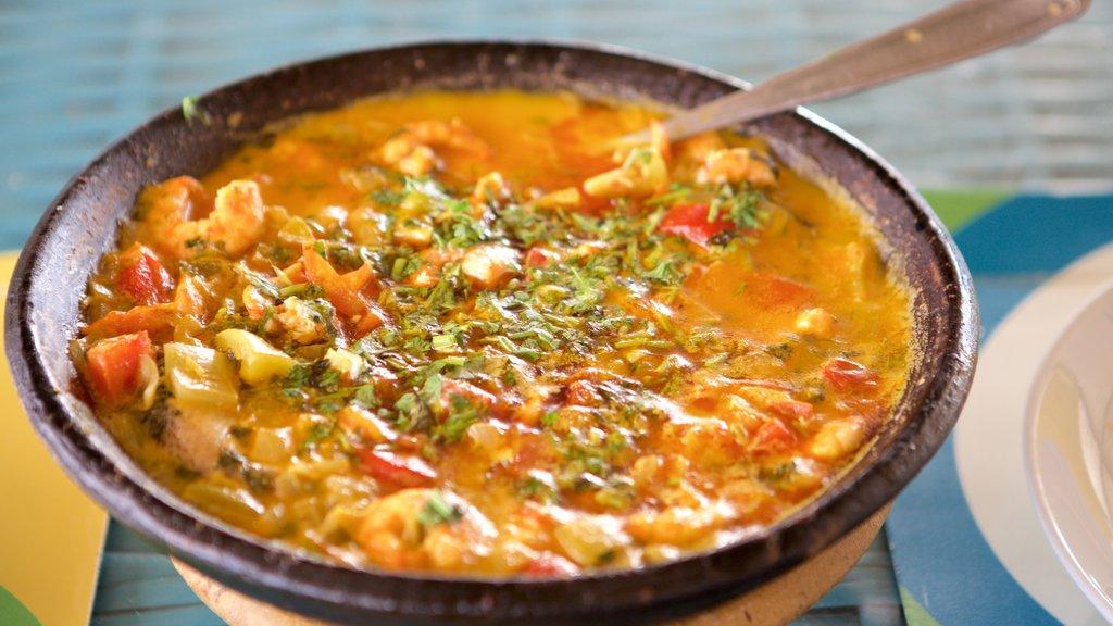 Salvador featuring food