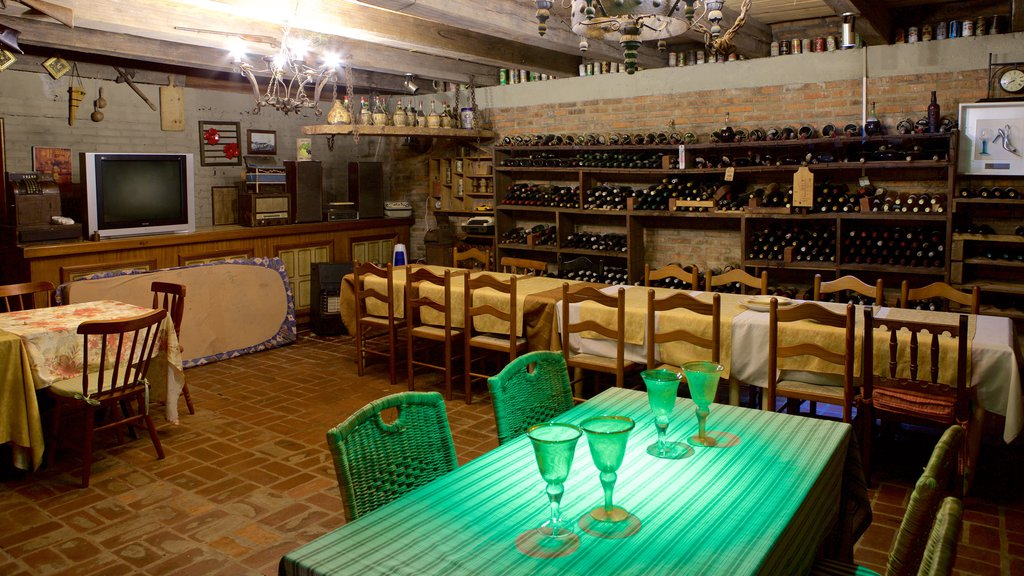 Gramado featuring drinks or beverages, interior views and dining out