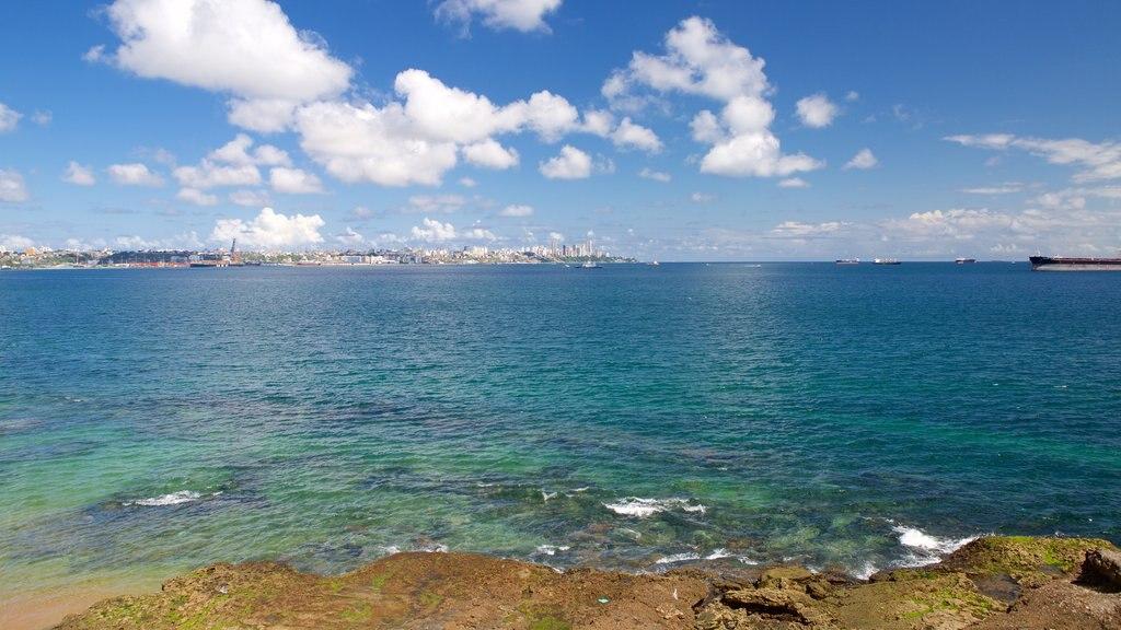 Salvador que inclui litoral acidentado e paisagens litorâneas