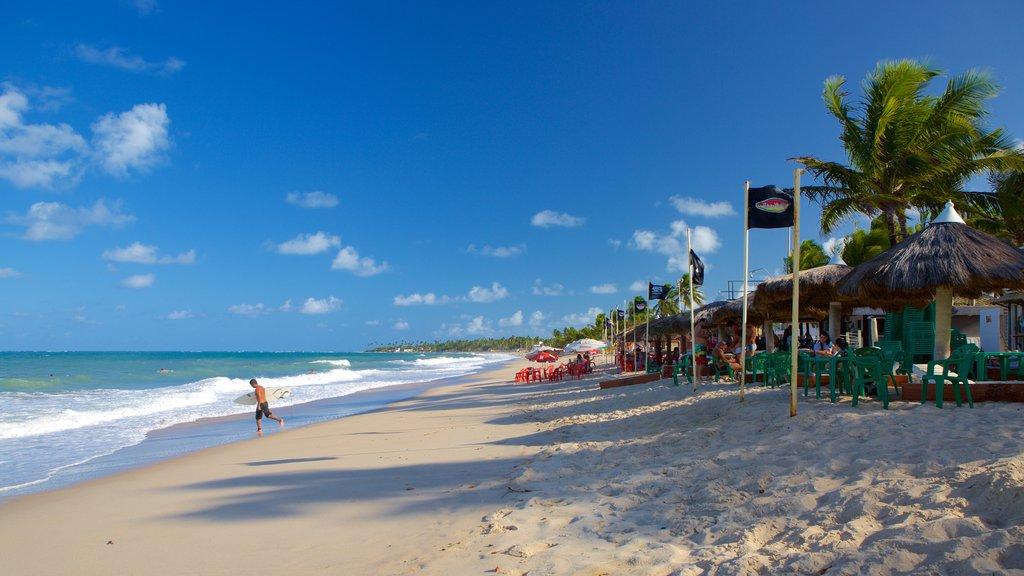 Maracaipe Beach featuring a sandy beach and general coastal views