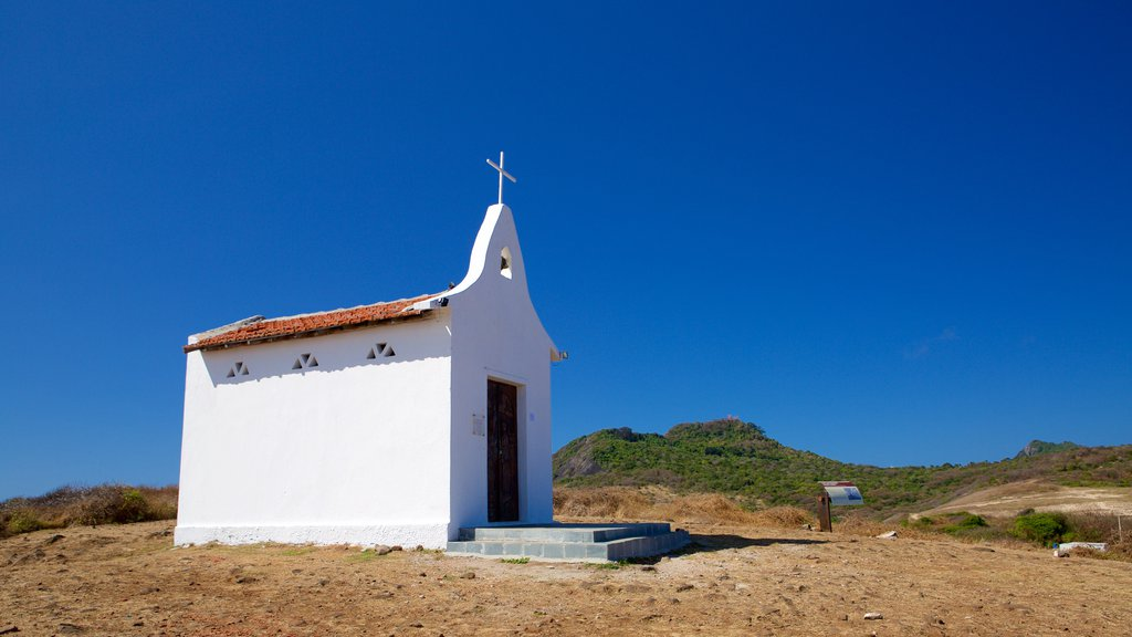 Sao Pedro Chapel showing religious aspects and a church or cathedral