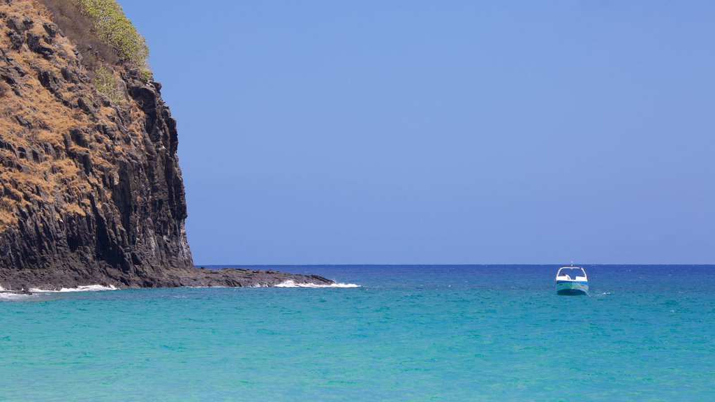 Praia Cacimba do Padre que inclui litoral rochoso, paisagens litorâneas e canoagem