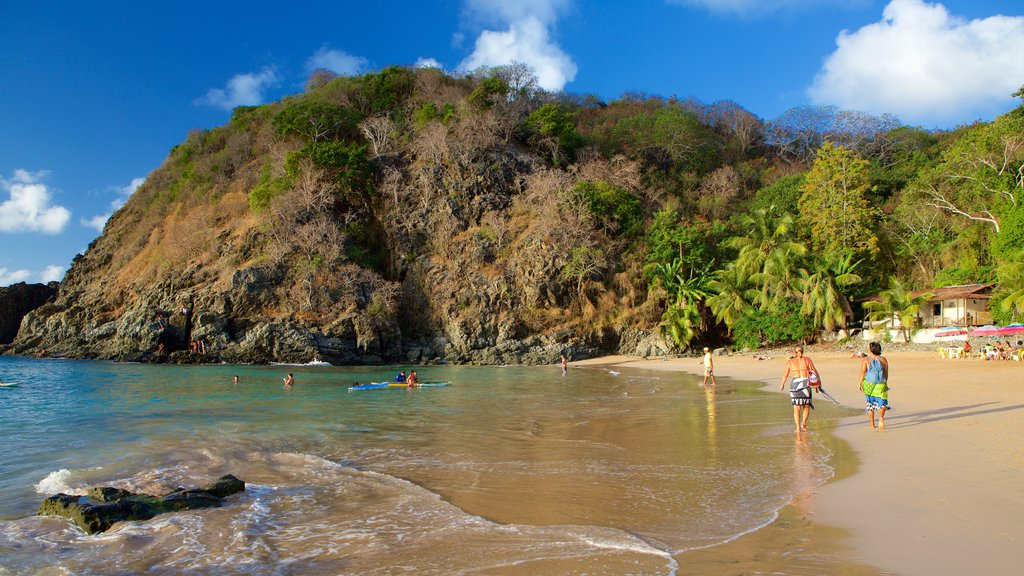 Cachorro Beach featuring kayaking or canoeing, general coastal views and mountains