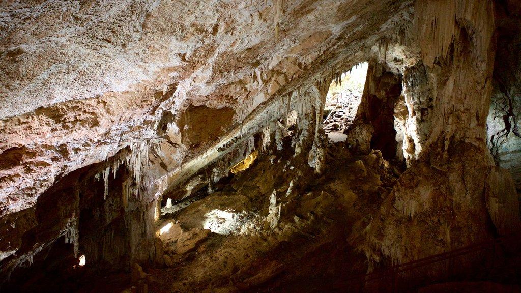 Grutas de São Miguel mostrando cavernas