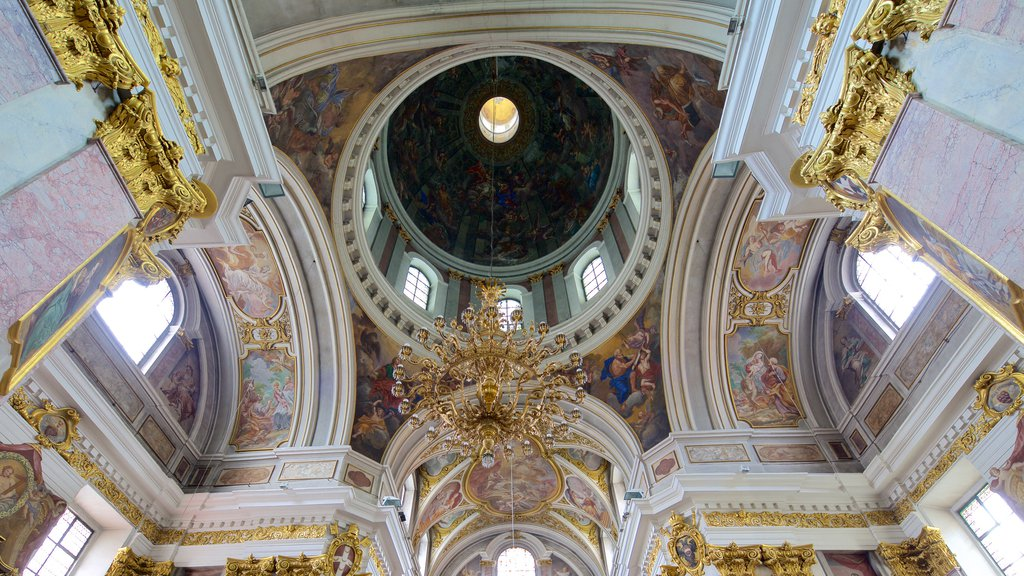 St. Nicholas Cathedral showing interior views and art