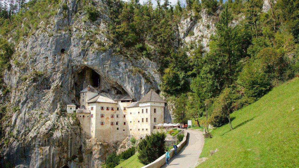 Predjama Castle which includes heritage architecture