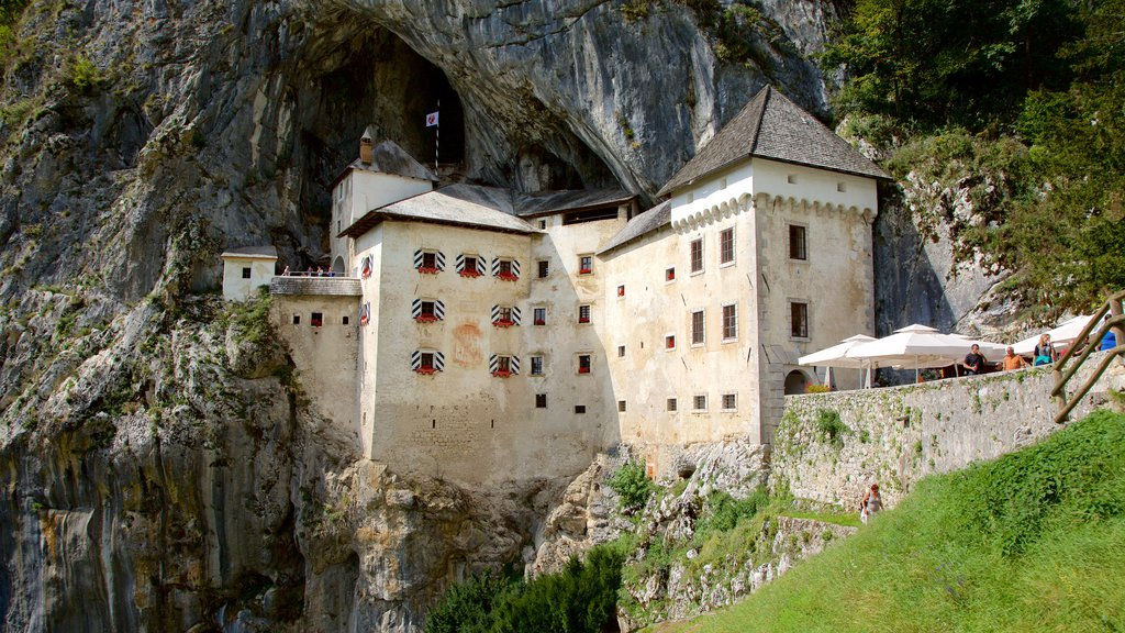 Predjama Castle featuring chateau or palace