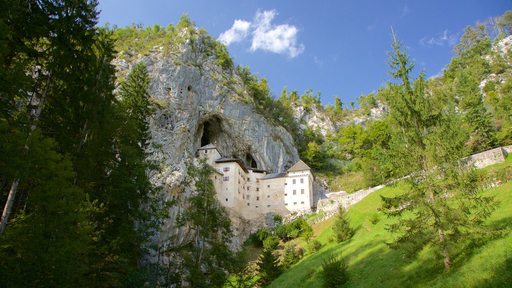 Predjama Castle showing chateau or palace