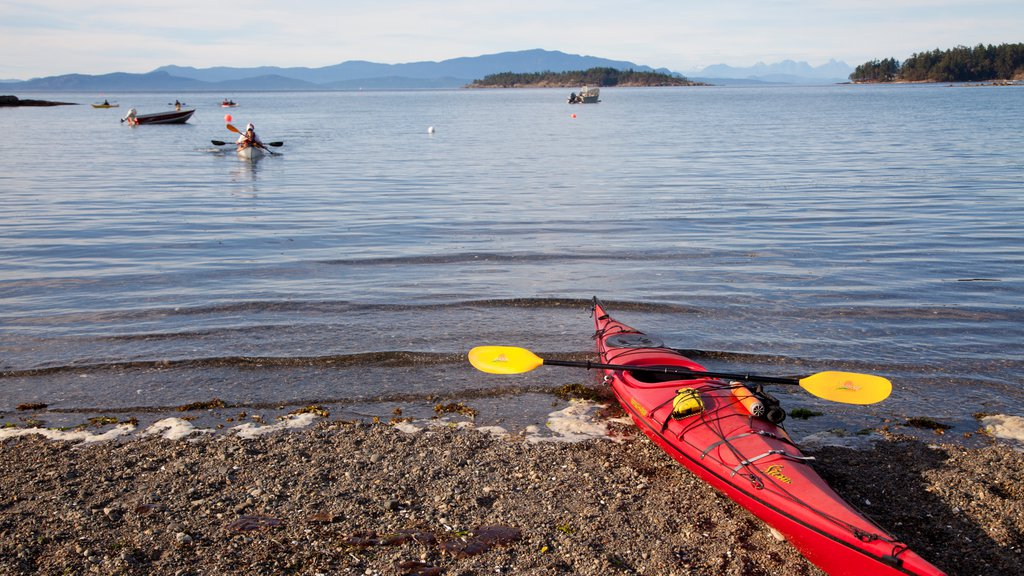 Parksville featuring a sandy beach and kayaking or canoeing