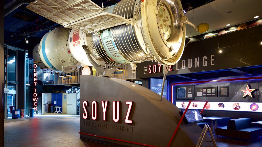 National Space Centre which includes interior views and signage