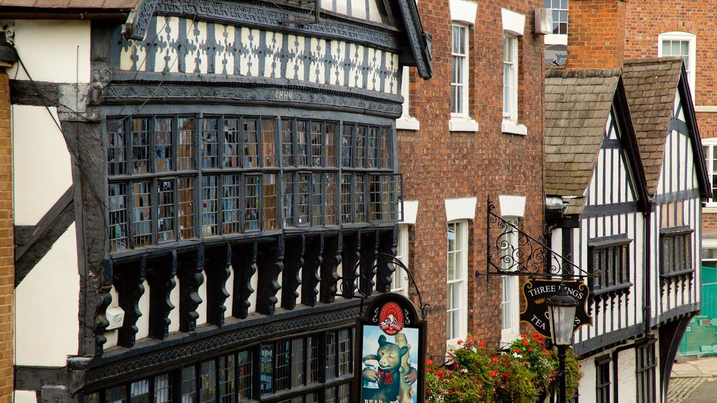 Chester which includes a hotel and heritage elements