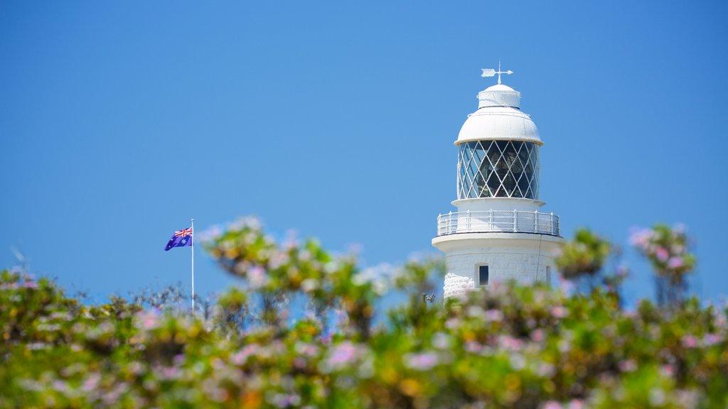 Cape Naturaliste Lighthouse ofreciendo un faro