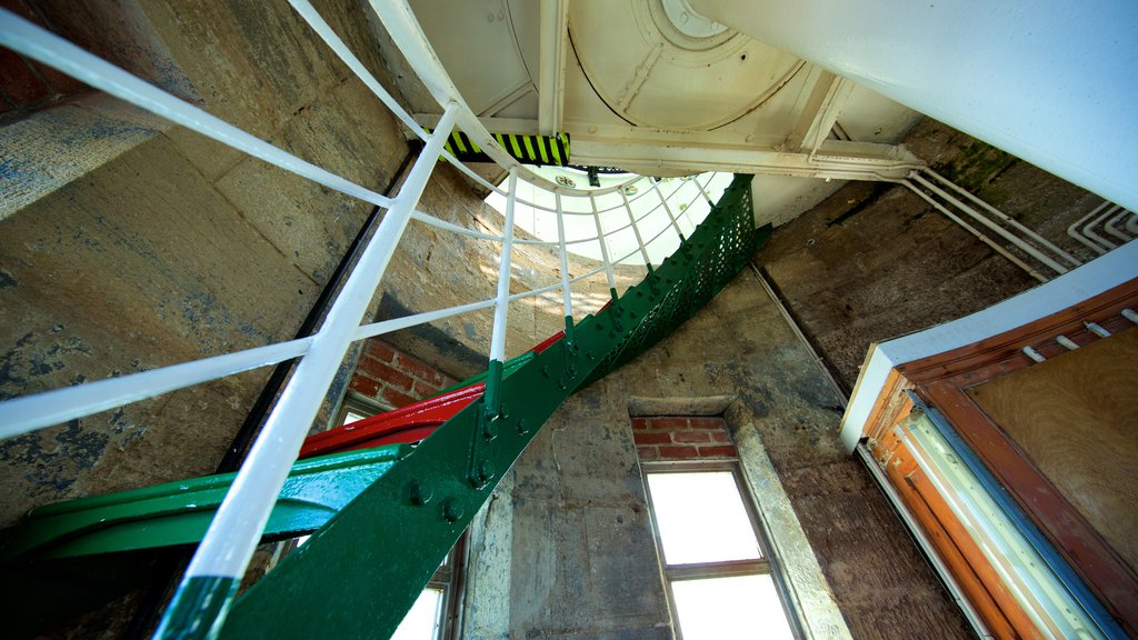 Cape Leeuwin Lighthouse which includes interior views