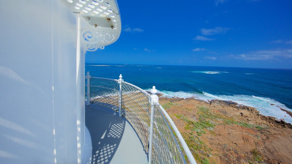 Leeuwin which includes a lighthouse, general coastal views and views