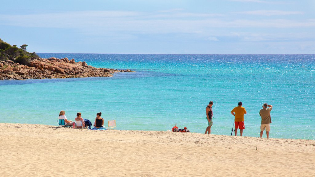Naturaliste which includes a beach as well as a small group of people