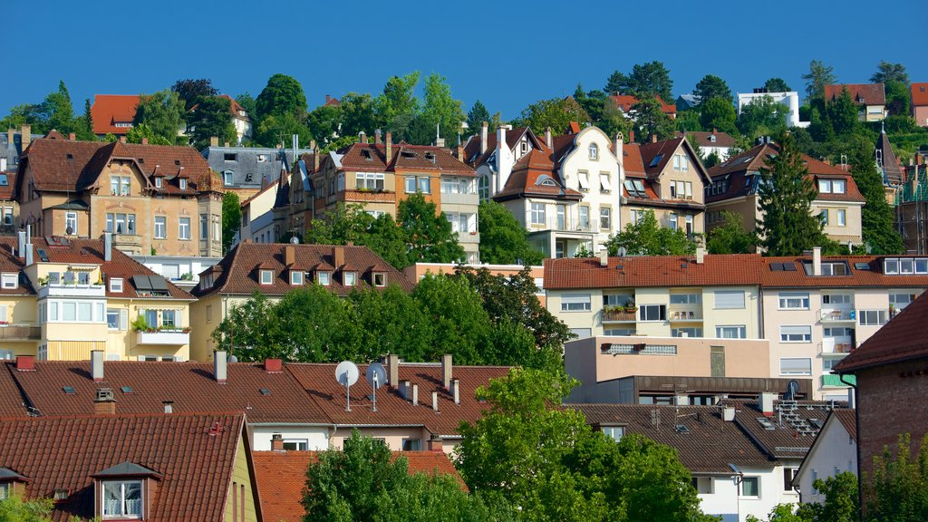 Stuttgart showing heritage architecture and a city