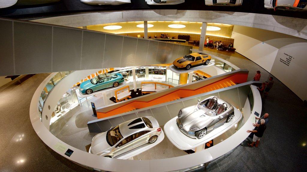Stuttgart showing interior views