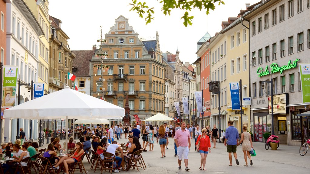 Constance which includes street scenes and outdoor eating