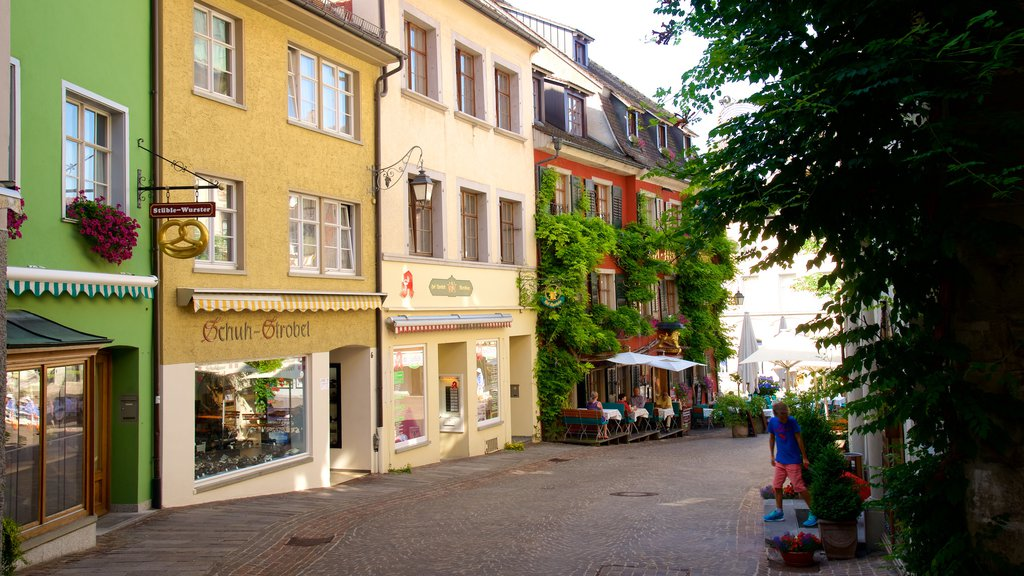 Meersburg featuring street scenes