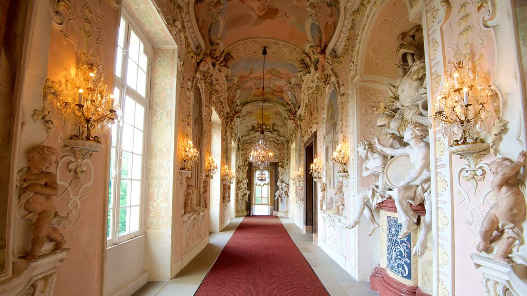 Ludwigsburg Palace which includes chateau or palace, heritage elements and interior views
