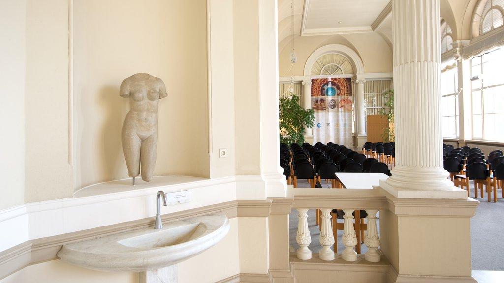 Caracalla Spa featuring interior views