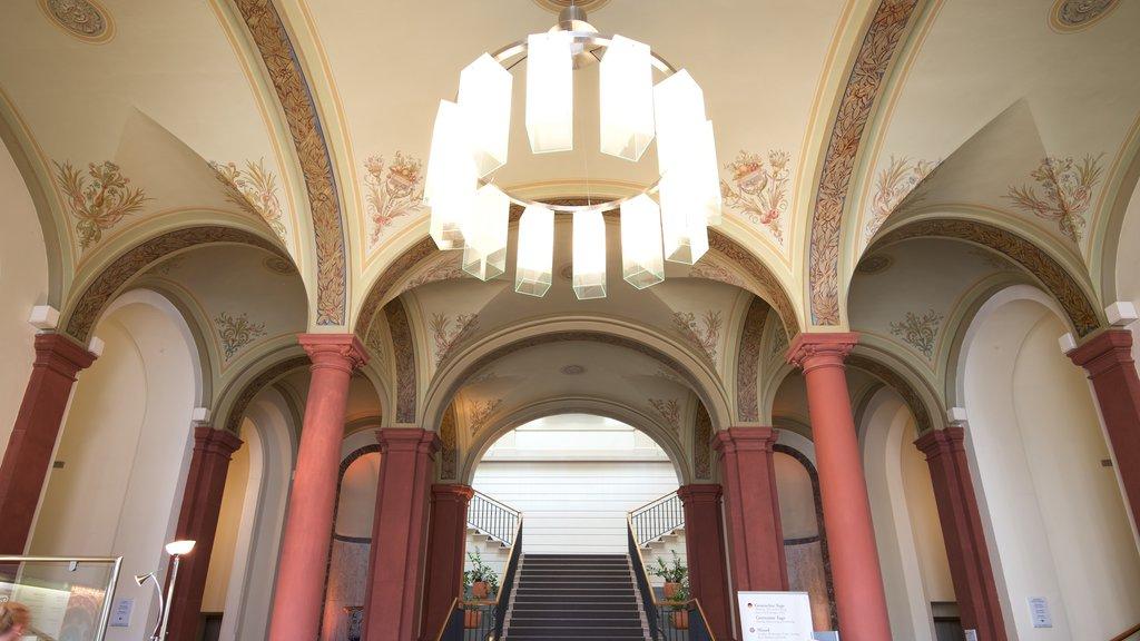 Caracalla Spa showing interior views
