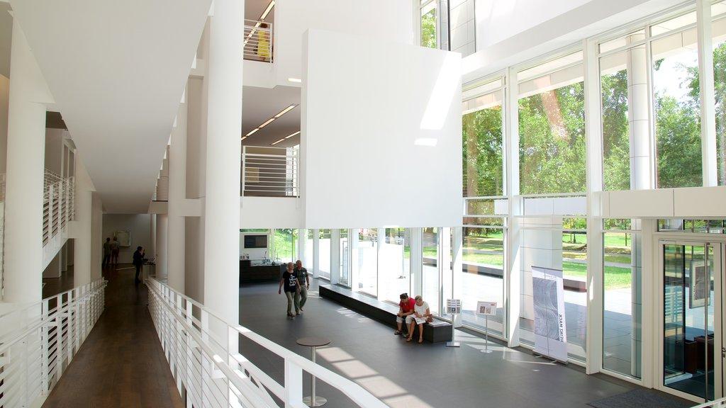 Museum Frieder Burda which includes interior views