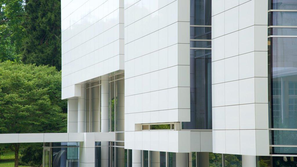 Museum Frieder Burda featuring modern architecture