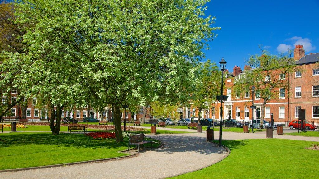 West Yorkshire mostrando un parque