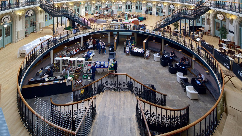Corn Exchange featuring interior views and heritage architecture