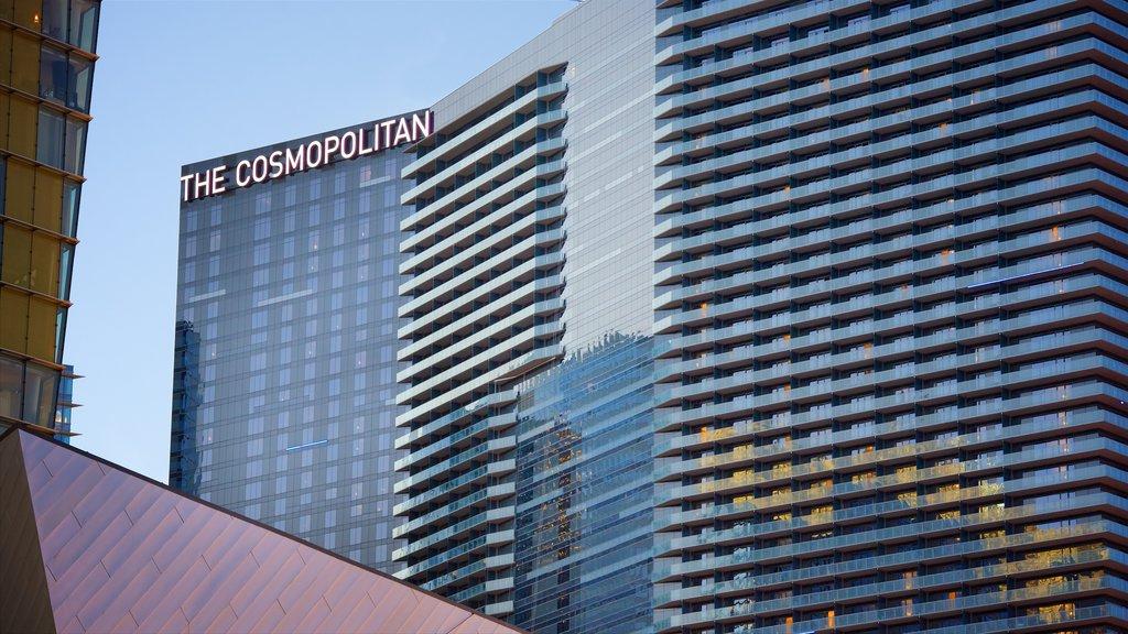 Las Vegas showing signage