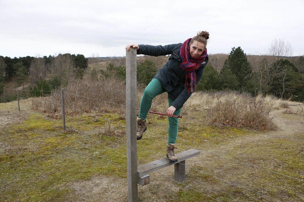 Er zijn plekken waar je veilig over het hek kunt klimmen