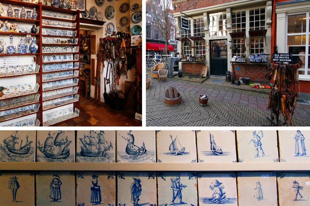 De oudste tegeltjes van Koos Rozenburg komen uit 1620. De prijs? Tussen de € 40,- en € 120,-