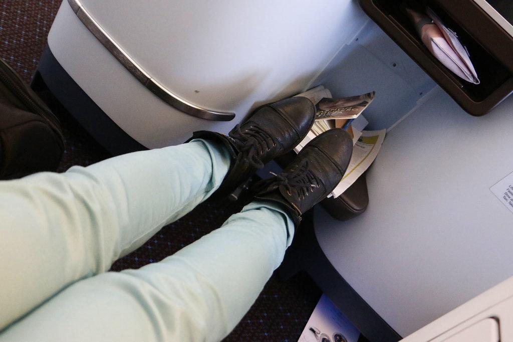 Beenruimte KLM