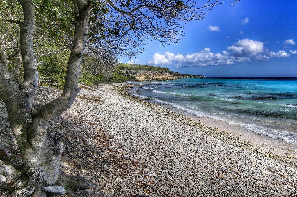 Afgelegen strand