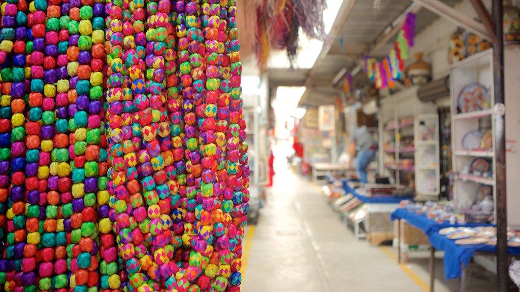 La Ciudadela which includes markets