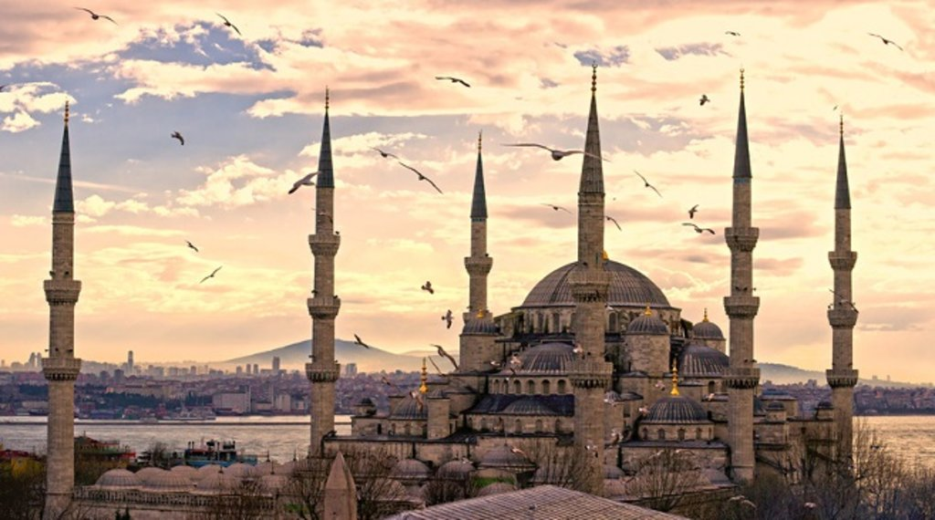 De Blauwe Moskee, Istanbul