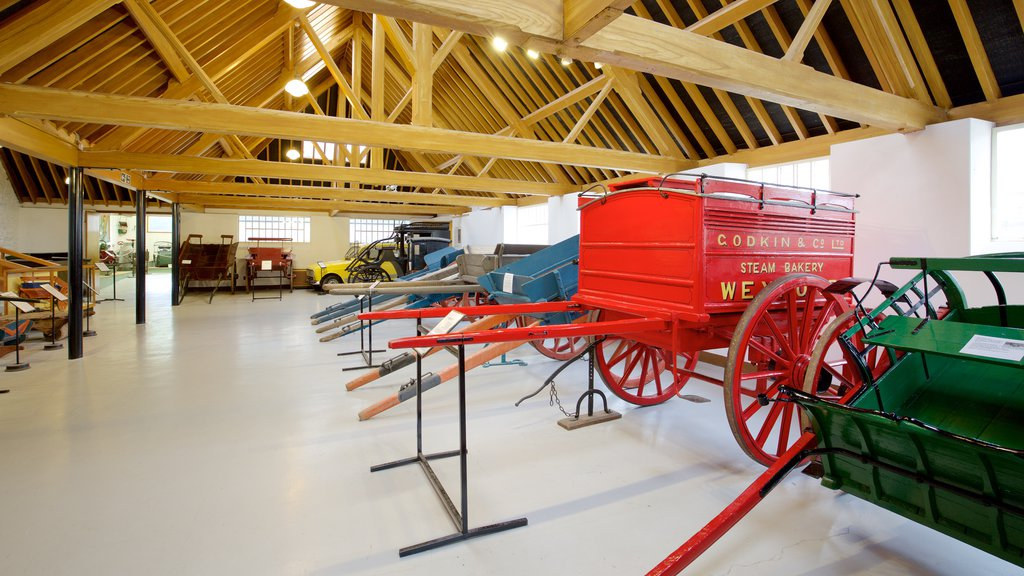 Irish Agricultural Museum which includes interior views