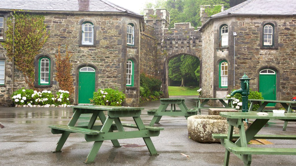 Irish Agricultural Museum showing a square or plaza and a small town or village