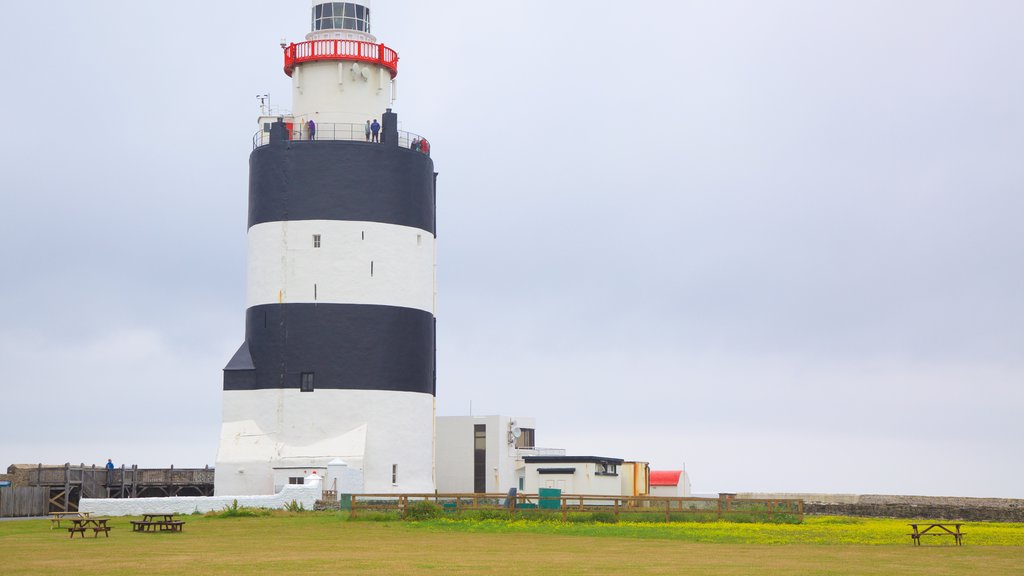 Hook Lighthouse showing a lighthouse