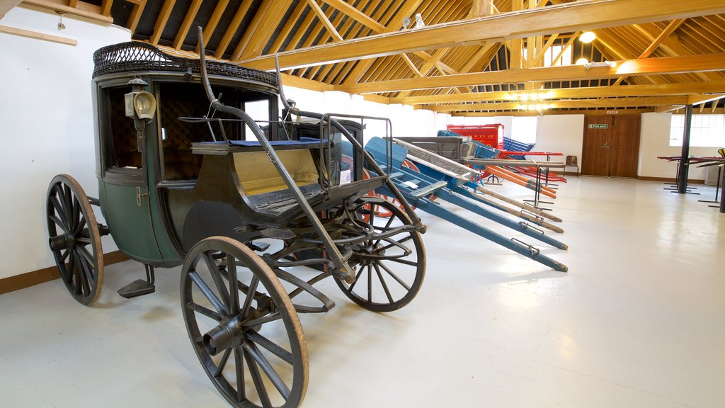 Irish Agricultural Museum featuring interior views