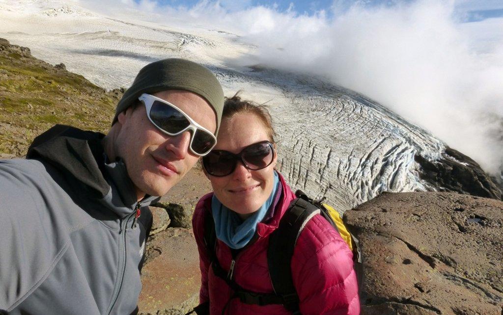 Martijn en Antonette in Nahuel Huapi National Park in Argentinië