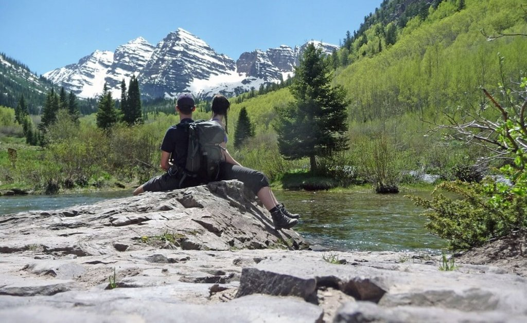 Maroon Bells Aspen in Colorado, USA