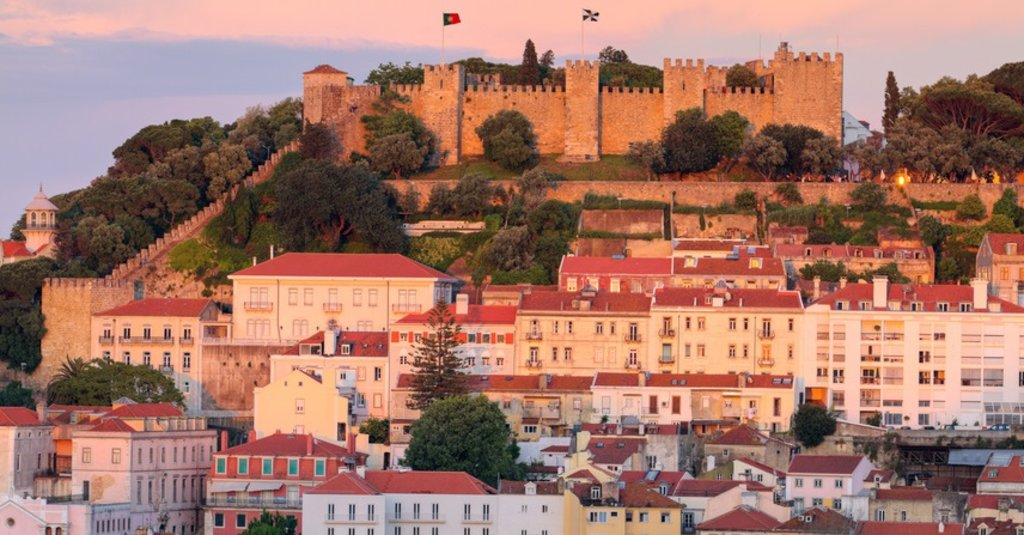 Kasteel Sao Jorge in Lissabon