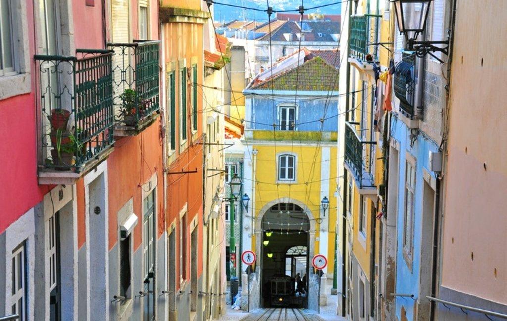 Bairro Alto in Lissabon