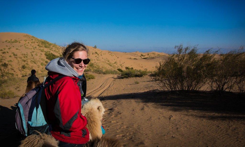 Yvonne in Binnen-Mongolië