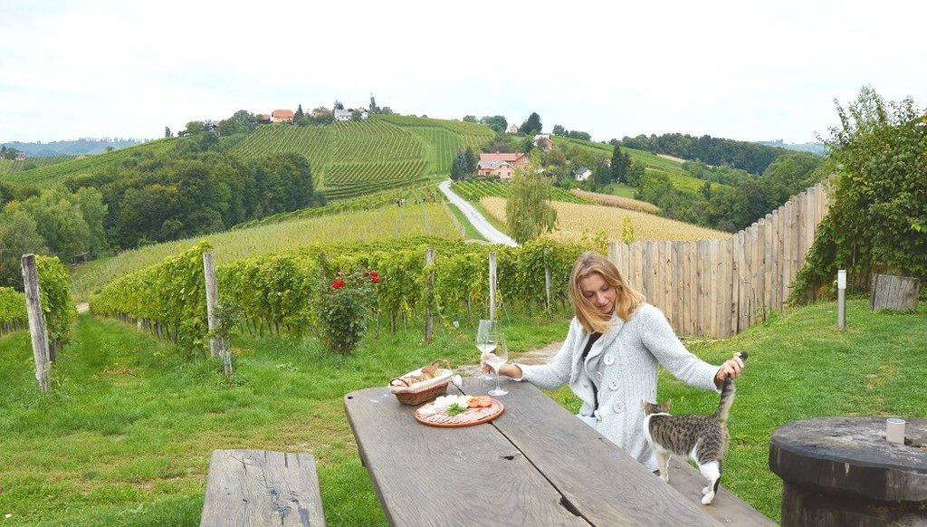Wijn proeven in Slovenië
