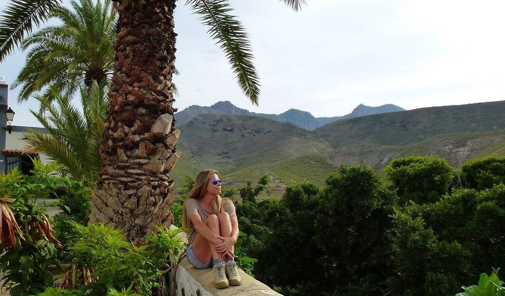 Denise op Gran Canaria