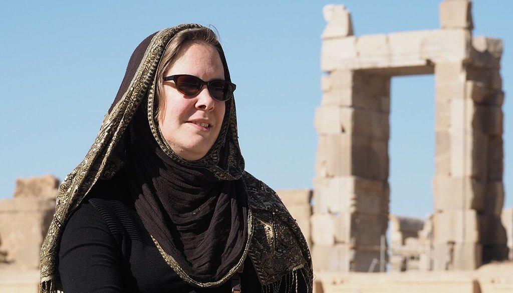 Reisblogger Jenny in Iran
